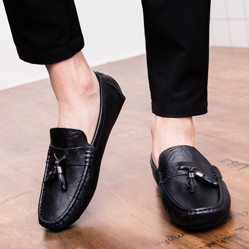 Men Loafers Shoes outdoor Italy Oxfords Business Dress Boat Shoes Formal Oxford Men Flat Shoes Wedding party shoes p4 32