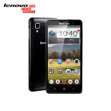 "Original Lenovo P780 Téléphones Cellulaires MTK6589 Quad Core 5 ""1280×720 Android 4.4 Gorilla Glass1280x720 1 GB RAM 8.0MP 4000 mAh Batterie"