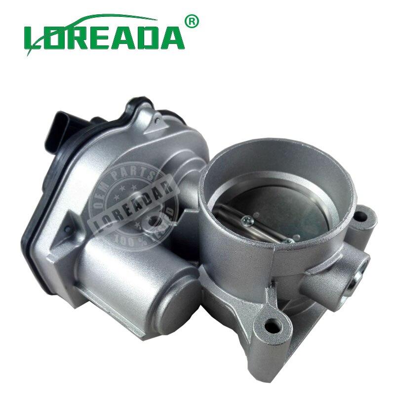 LOREADA Throttle Body Assembly 1537636 VP4M5U9E927DC 4M5GFA For Ford Mondeo Fusion Mercury Marine 2.3 2.5L 2009-2012LOREADA Throttle Body Assembly 1537636 VP4M5U9E927DC 4M5GFA For Ford Mondeo Fusion Mercury Marine 2.3 2.5L 2009-2012