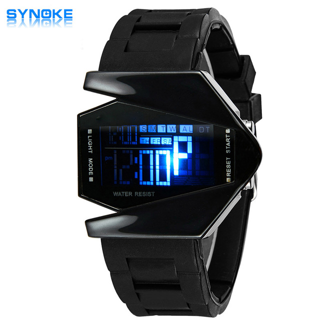 SYNOKE Top Brand Watches Child Luxury Famous LED Digital Watch Male Sport Electr