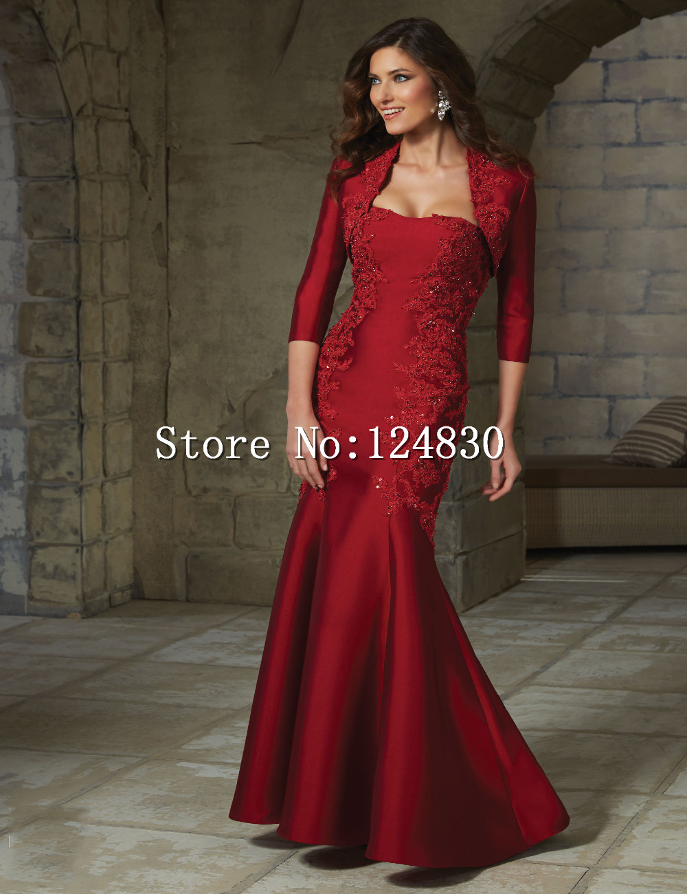 Aliexpress.com : Buy Free Shipping Hot Sell Long Bride Dress ...