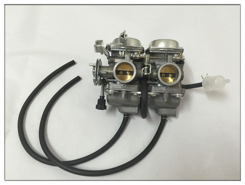 цены Motorcycle carburetor CA250 CMX250 CMX250C Vento Barracuda 250 DD250 QJ250-3 carburetor 253FMM Engine Double cylinder double