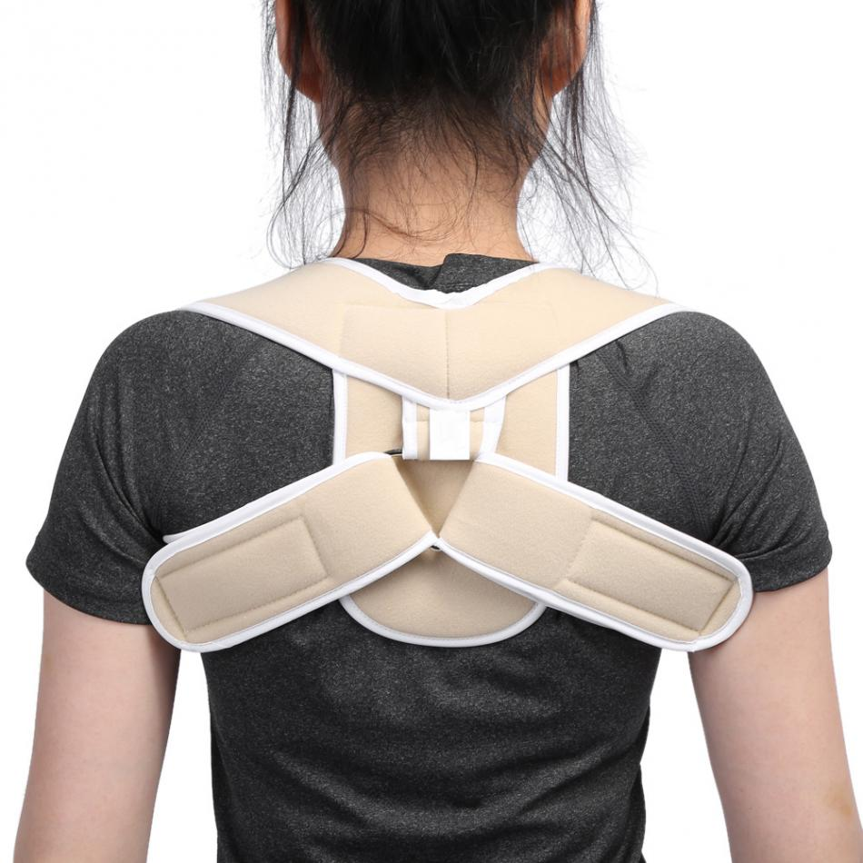 Adjustable Children Adult Posture Corrector Shoulder Back Support Brace Corset Orthopedic Posture Correction Spine Support Belt