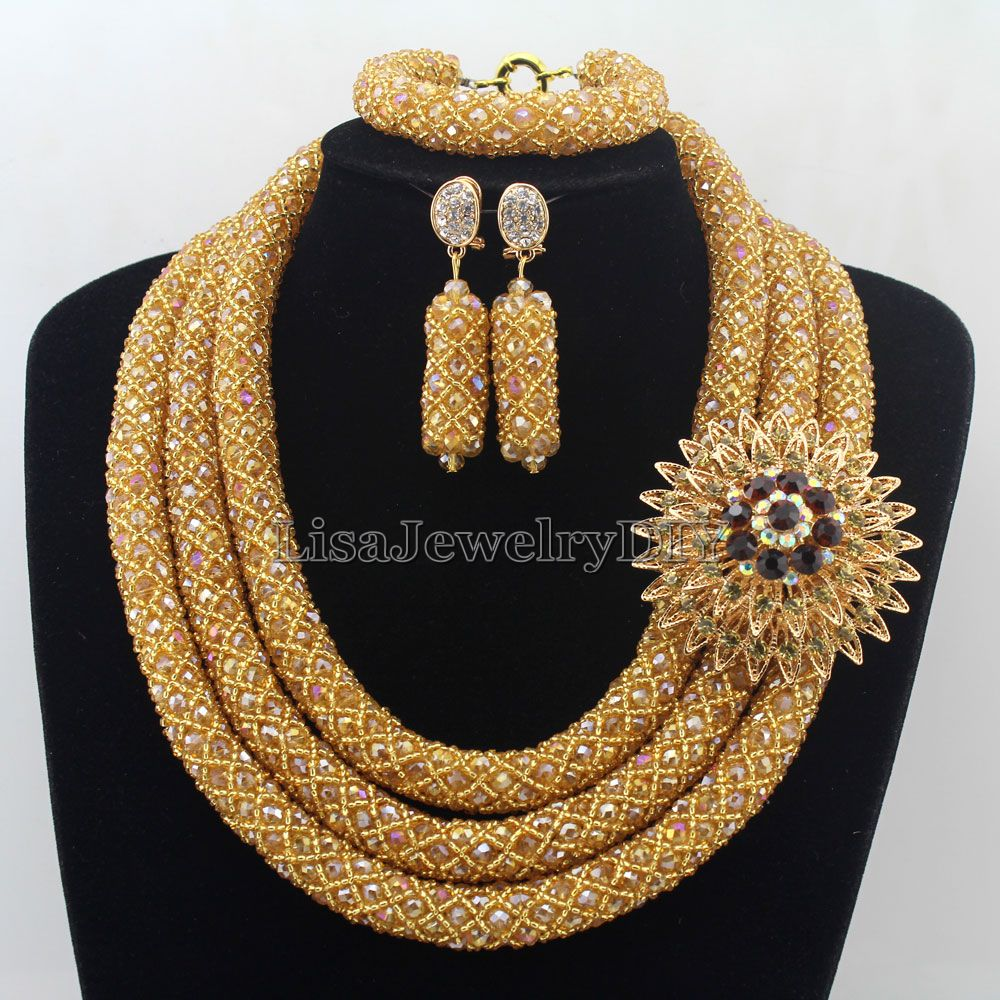 African Jewelry Sets Nigerian Beads Wedding Jewelry Set Bridal Statement Jewelry Set Womens Jewellery Set HD7347African Jewelry Sets Nigerian Beads Wedding Jewelry Set Bridal Statement Jewelry Set Womens Jewellery Set HD7347