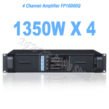 4 Channel Switching Power Amplifier 1350W x 4 Stage Performance Line Array Digital Power Audio Sound