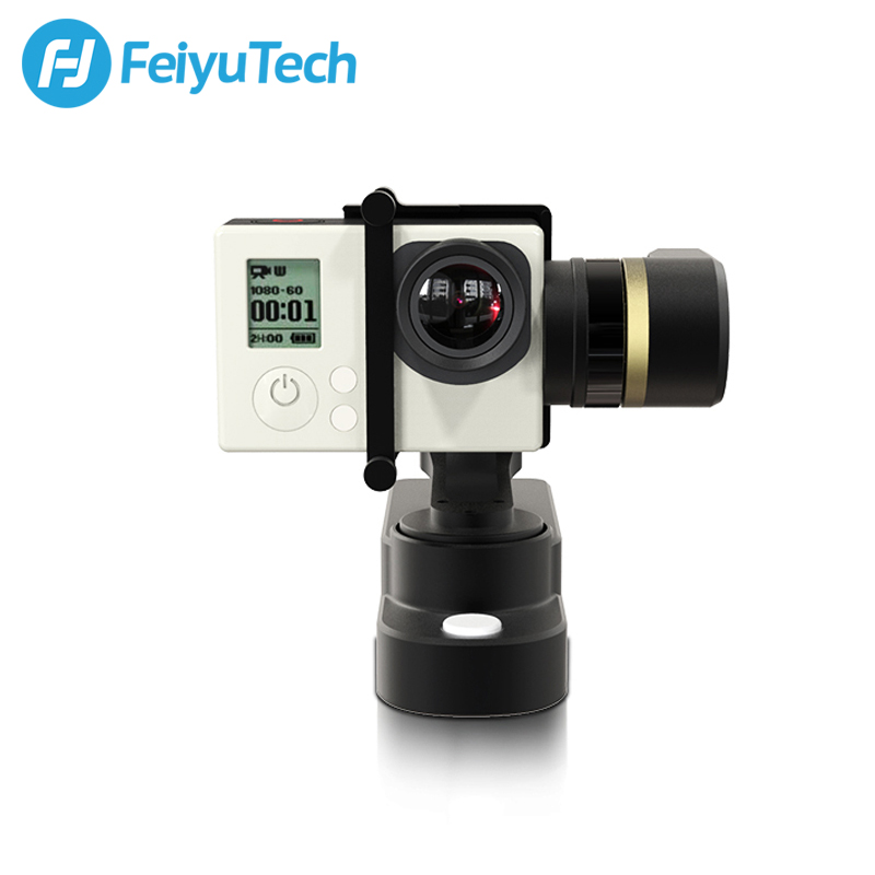 FeiyuTech Feiyu WG 3-Axis Wearable Gimbal Stabilizer for Gopro HERO4 / HERO3+ / HERO3 and other similar Action Camera feiyu tech g5 3 axis handheld gimbal action camera stabilizer splash proof design for hero5 hero4 hero3