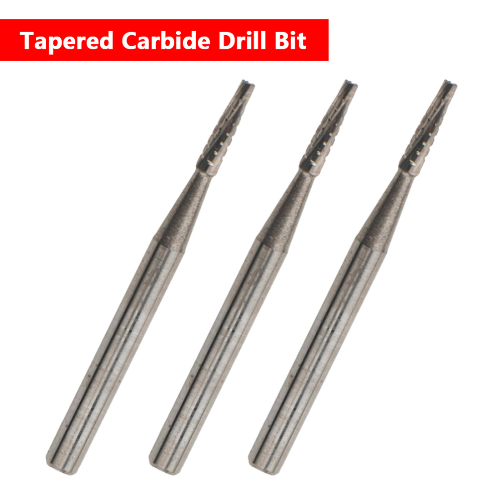 1mm Diameter DIY Car Glass Automobile Windshield Repair Tool Tapered Carbide Drill Bit For Auto Glass Sliver