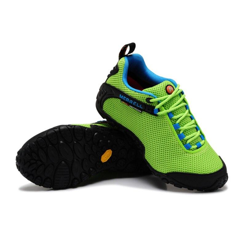 Merrell Asli wanita Bernapas Camping Terbuka Olahraga Jala Sepatu Hiking  Untuk Mountaineer Climbing Sneakers Hijau 36 39 di Hiking Shoes dari  Olahraga ... 36decc9699