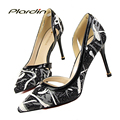 plardin D'Orsay Pumps Women Wedding Pumps Victoria Color Mixed Shoes Woman 2017 Women Women's Bridal High Heels Party Pumps