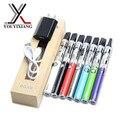 2 unids/lote ugo ugo-v de v starter kit de cigarrillo electrónico 900 mah batería ugo-v micro usb con clearomizer no. 34