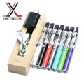 2pcs/lot ugo-v Starter Kit Electronic Cigarette 900mAh UGO-V Battery Micro USB UGO-V With Clearomizer NO.34