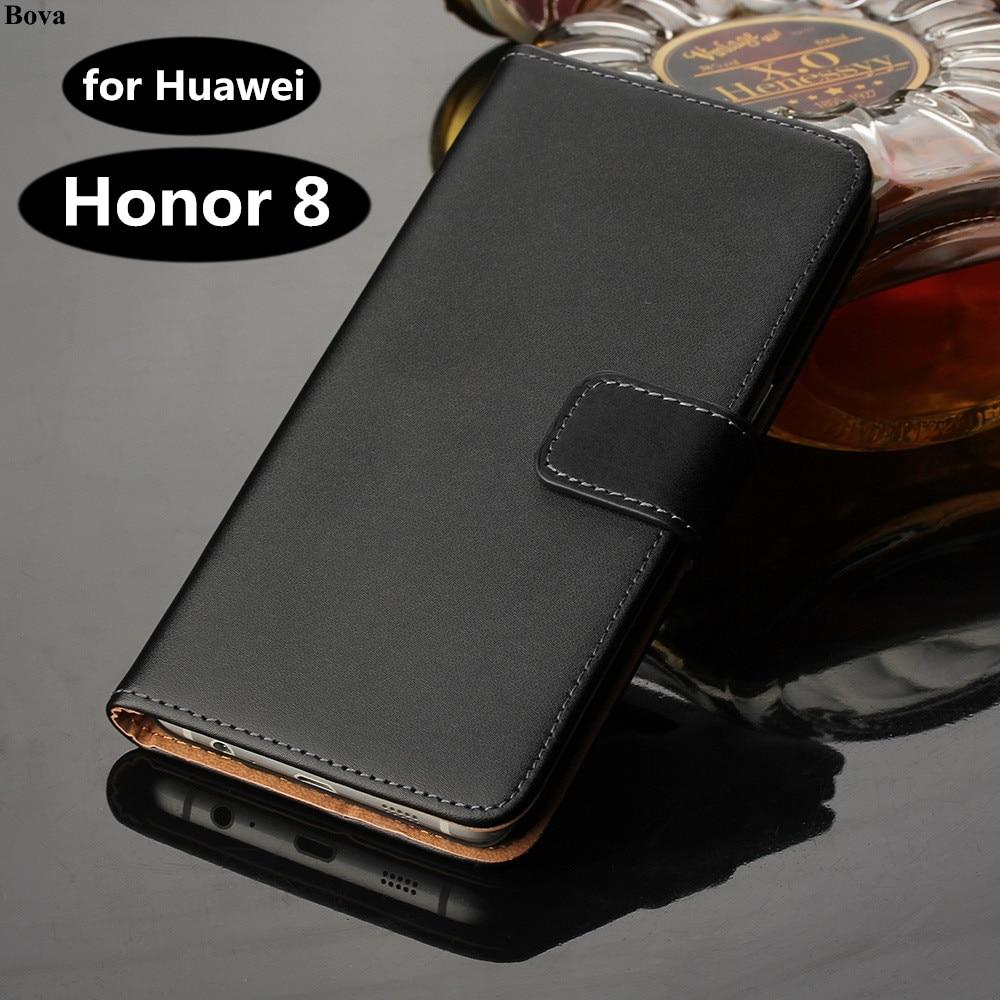 Huawei Honor 8 5,2-tums täckväska Premium PU-läderplånbok för Huawei Honor 8 med kortplatser och kontanthållare GG