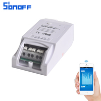 ITEAD Sonoff Pow WiFi Wireless Switch ON Off 16A With Power Consumption Measurement Home Automation IOS