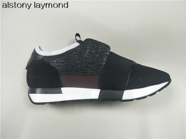 Sneaker Mode 2 Chaussures Qualité Formateur Printemps Pointu Sport Femmes Grande Automne 1 Confortable 2018 Bout Bonne qf5tAwx66