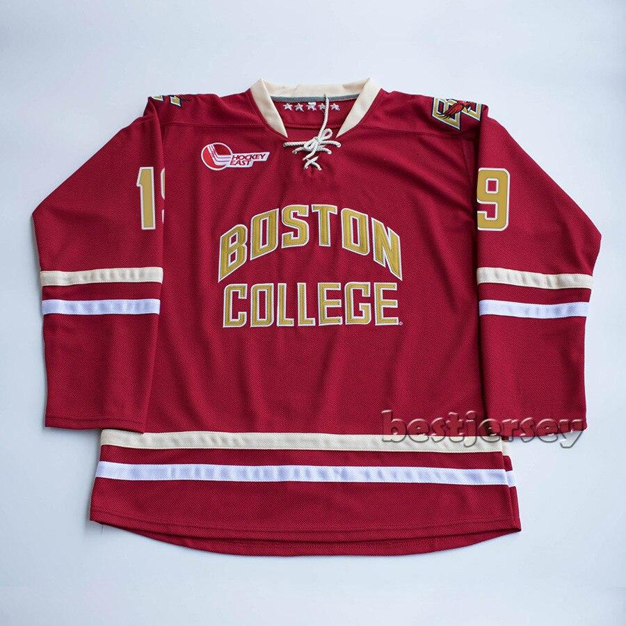 more photos c55e2 24226 Kowell Boston College 19 chris kreider Stitched Hockey ...