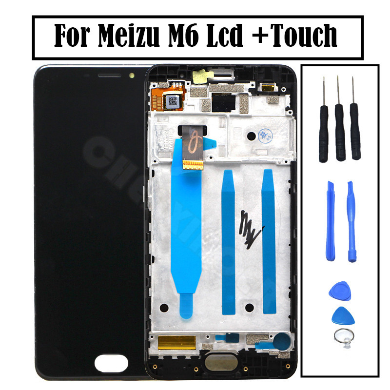 <font><b>Meizu</b></font> <font><b>M6</b></font> <font><b>LCD</b></font> Display + Touch Screen + Tools Set 5.2