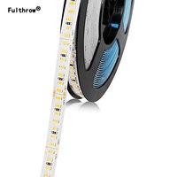 FulthrowLED Strip 2835 SMD182LEDs/m 5M 300/600/1200 Leds DC24V High Bright Flexible LED Rope Ribbon Tape Light Warm White / Cold