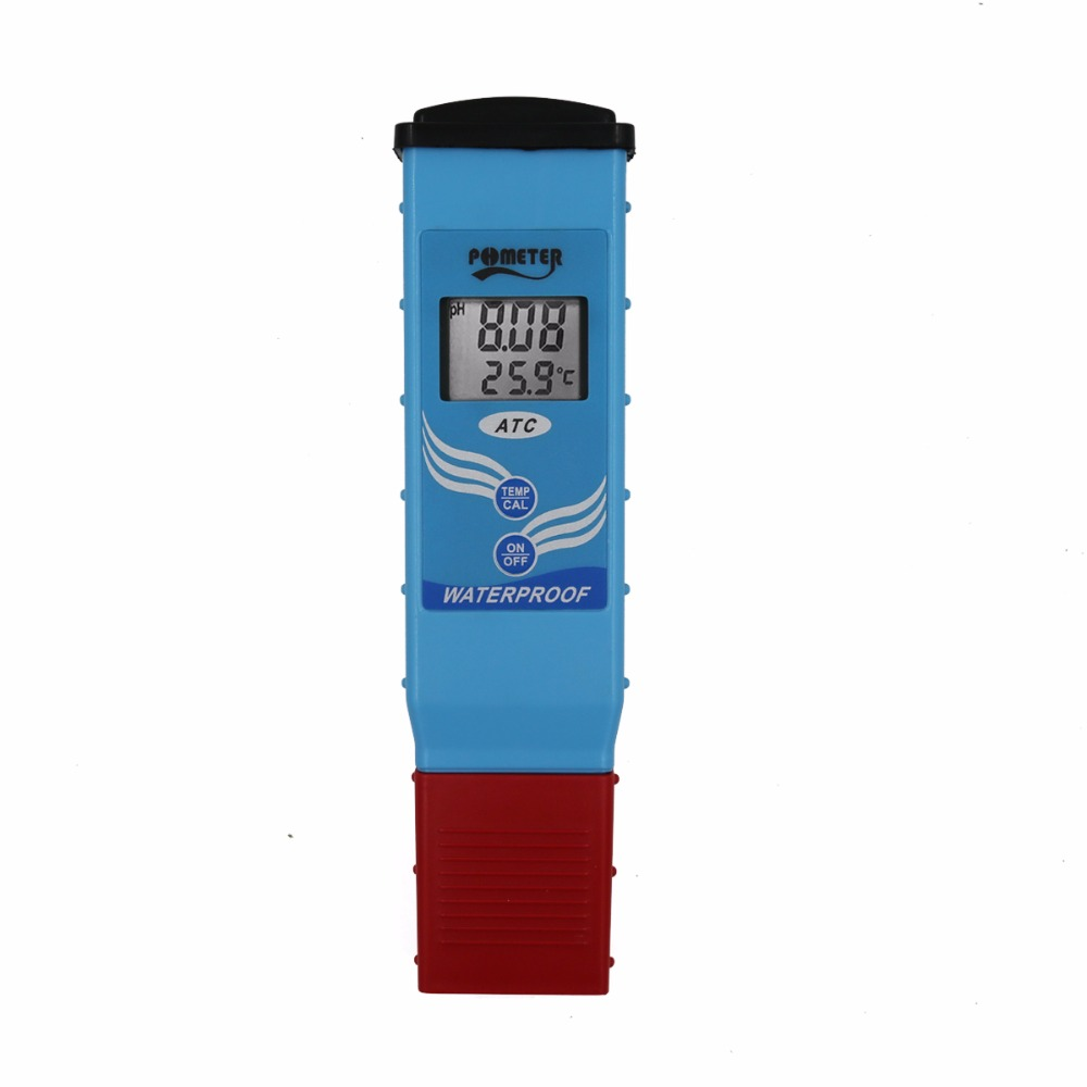 High Grade PH-097 LCD Display Digital Waterproof PH Meter Temperature Auto Calibration ATC Tester For Water Quality 40%Off fast arrival ph 981 pen type ph meter 0 00 14 00 resolution 0 01 accuracy 0 05 1 point calibration atc
