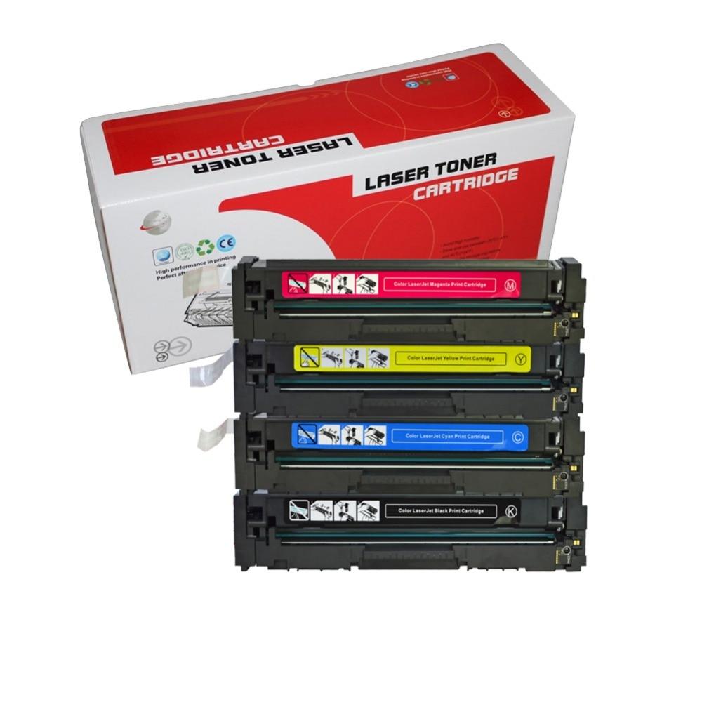 1 SET CF410A CF410 PEU 410A cartouche de toner compatible Pour HP Color LaserJet Pro M477 M477fnw M452dn imprimante