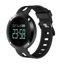 Гестия IP67 DM58 Сенсорный экран сердечного ритма Смарт часы Водонепроницаемый крови Давление фитнес-трекер спортивные часы для IOS Android