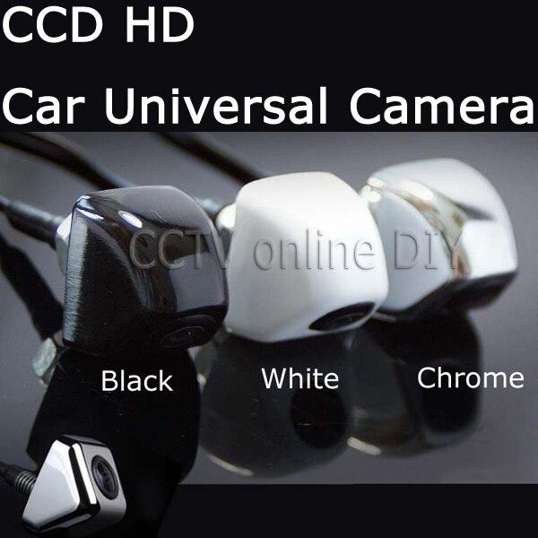 imágenes para CCD de visión trasera universal cámara Del estacionamiento Del Coche cámara de reserva HD color de la visión nocturna, solaris corolla k2 coche marcha atrás cámara