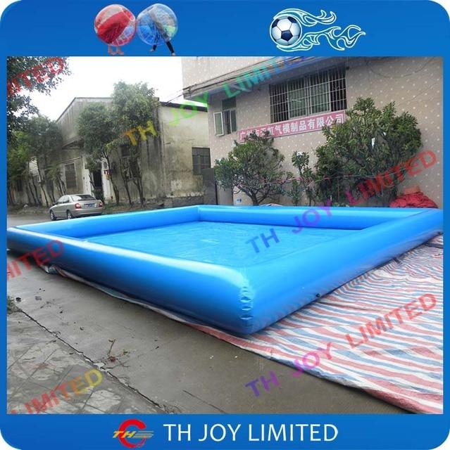 Swimmingpool aufblasbar  Gute qualität 8x6 mt platz aufblasbarer swimmingpool, aufblasbare ...