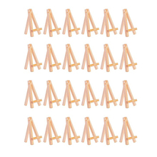 MEEDEN 6 25 Inch Wood Easel for Weddings Dispaly Card Holder Stand and School Students Artist