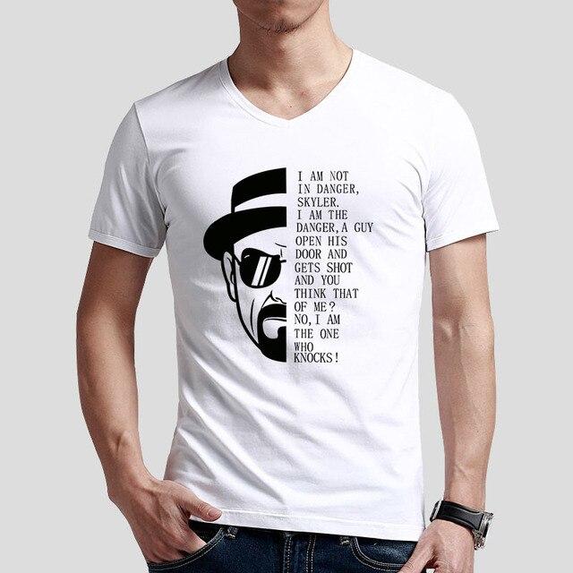 8606769c7 WALTER WHITE HEISENBERG Breaking Bad Hombres Camiseta Ropa I soy El Que  Llama
