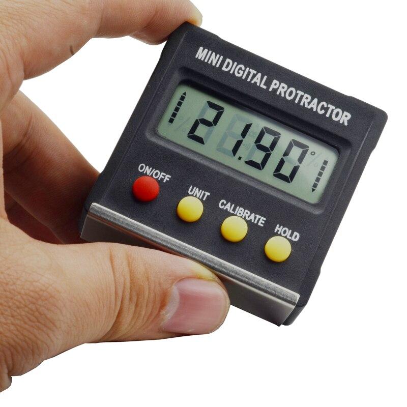 Mess & Messwerkzeuge Messung Und Analyse Instrumente Gehorsam 360 Grad Mini Digital Winkelmesser Neigungs Elektronische Ebene Box Magnetische Basis Messwerkzeuge Ebene Box Winkel Gauge Meter