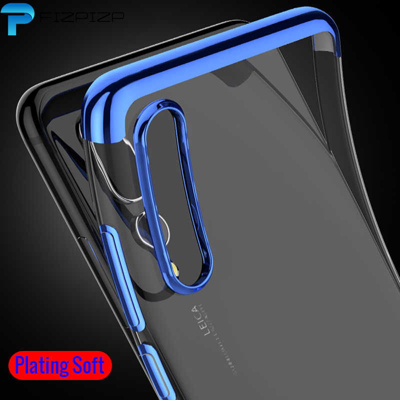 Cases Case Plating TPU for Huawei P30 P30 Pro Lite P20 P Smart 2019 Plus 2018 Soft Silicone Transparent Back Cover Phone Cases