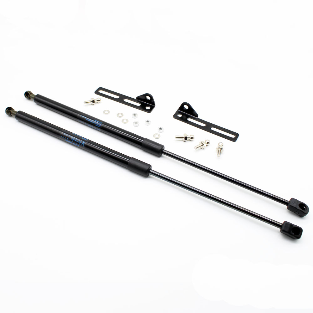 2x Car Front Hood Bonnet Modify Gas Struts Lift Support