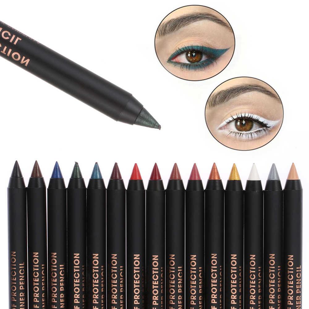 1Pc Waterdicht Pigment Oogschaduw Liner Combinatie Langdurige Kleurrijke Eyeliner Oogschaduw Potlood Eye Cosmetica Makeup Tools
