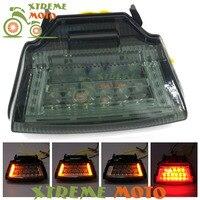 High Quality Motorcycle LED Rear Turn Signal Tail Stop Light Lamp Integrated For Kawasaki Ninja ZX10R