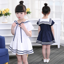 цены 2019 New Girls Dress With Bow Summer Children Clothing Infant Princess Dresses For Girls Baby Girl Clothes Costume For Kids