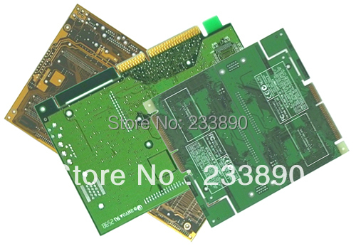 1-2 Layers PCB Production Manufacturing Prototype Printed Circuit Board 10x10CM