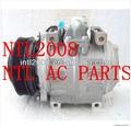 10P30C 7PK denso aircon a c ac compressor for Toyot Coaster bus,toyot min bus 447220-1472