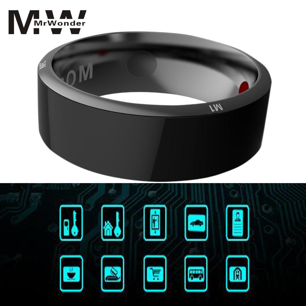 Mrwonder Smart PHONE Magic Ring Android ISO System  Wireless Sharing Health Tracker Monitoring Information Push Smart Ring SAN0