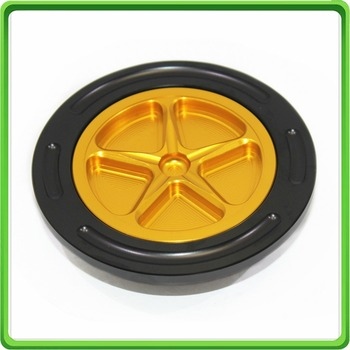 New Keyless Fuel Gas Tank Cap Cover - For BMW S1000R 2014-2017 & S1000RR 2009-2017 Yellow