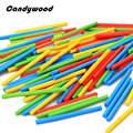 100pcs Kids Toys Colorful Wood sticks Montessori Educational Toys Mathematical Intelligence Stick Math Toy