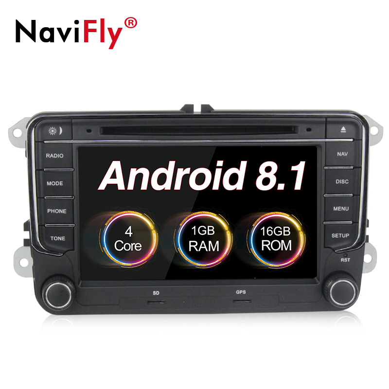 navifly 7 2din android car radio audio player for skoda. Black Bedroom Furniture Sets. Home Design Ideas