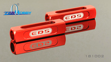 Team EDS Aluminum Chassis Droop Gauge Blocks 20mm 1:8 1:10 RC Car #EDS-181002 rc car aluminum alloy 3 in 1 camber gauge set up tool chassis suspension wheel camber ride height 1 8 1 10 rc car blue