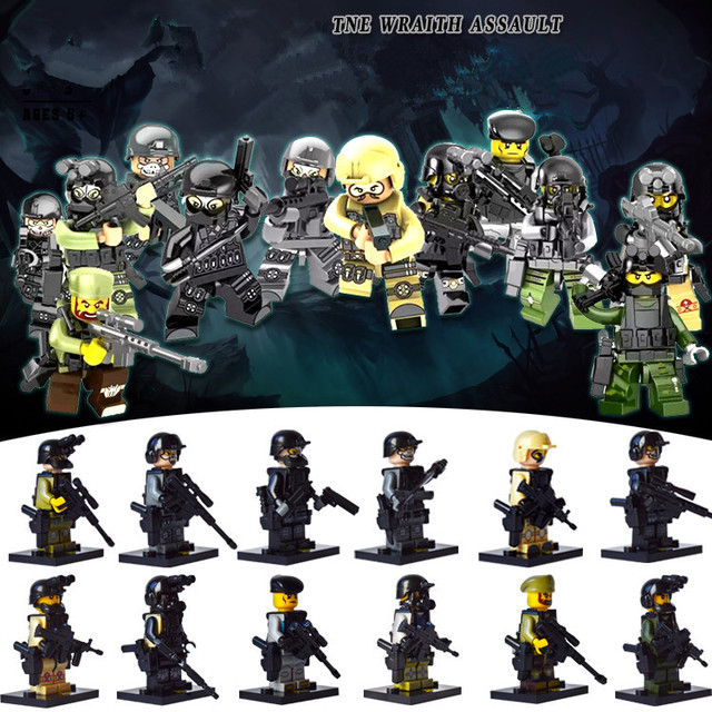Military Terrorist Attacks City Police Swat Team Army Guns Heroes World War WW2 6