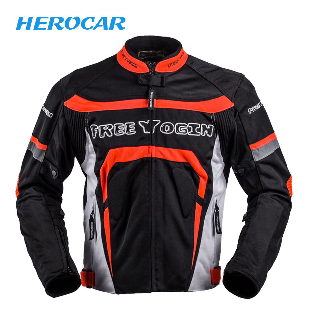 New Summer Motorcycle Jackets Chaqueta Moto Jacket Breathable Motorbike Motocross Chaquetas Riding Jacket Motorcycle Body Armor