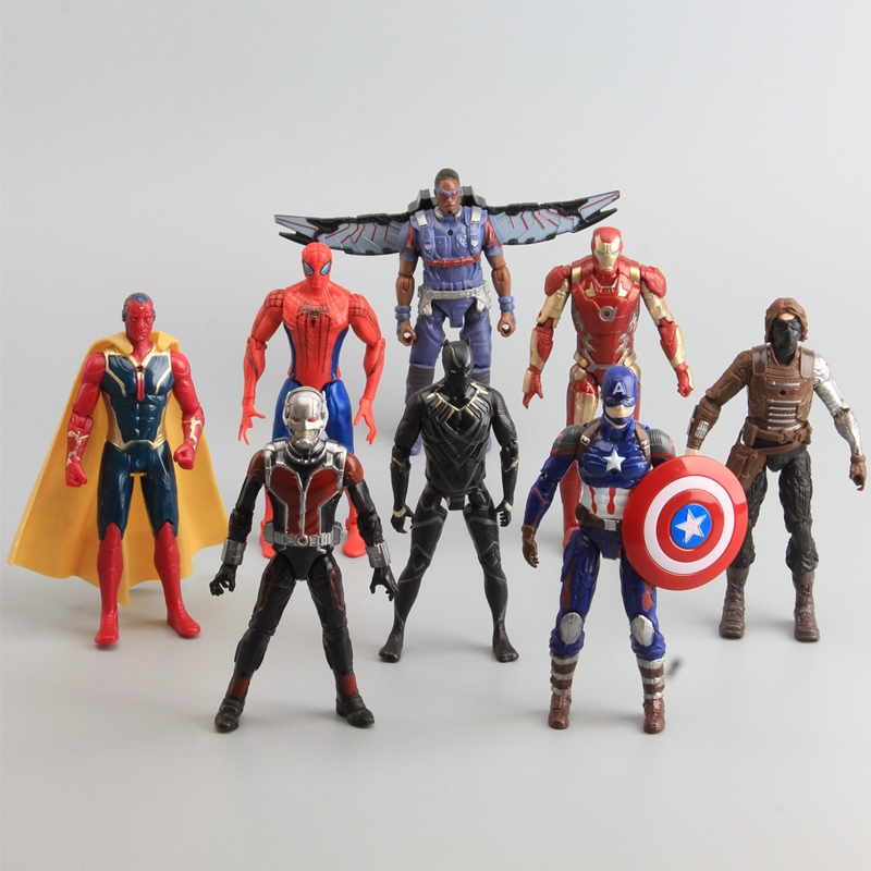 Civil Protection Toys : Aliexpress buy pcs set captain america civil war