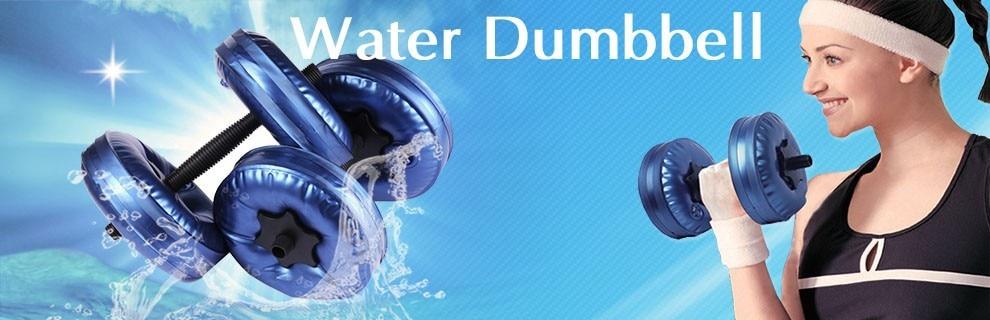 Частей высокое качество пвх безопасности- земля-дружественных вода заполнила гантели. Были соответствует утвержден( 1 пара