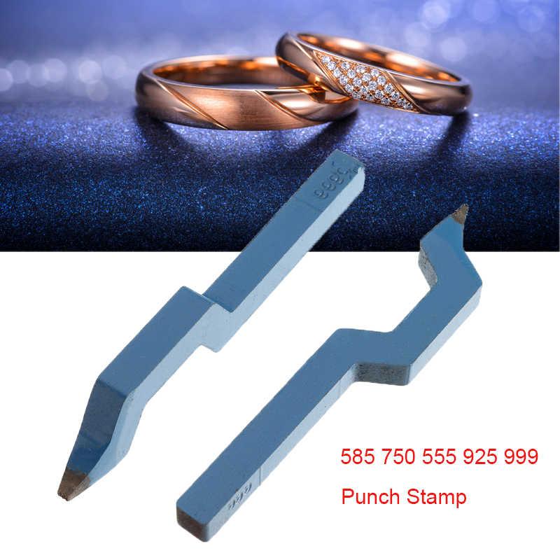 Jewellery Marking Pliers /& Punch Stamps 9K 18K 24K 585 750 925 Ring Metal Holder