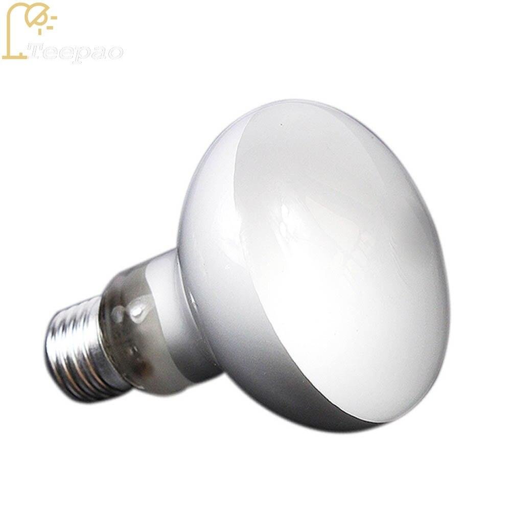25W/40W /60W /100W E27 Far-Infrared Ceramic Pet Heating Lamp for ortoise Lizard Spider Reptile Box Warmer Light Bulbs 2018 New
