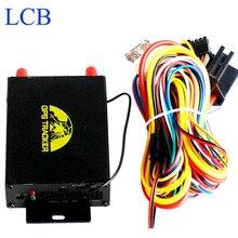 Кобан Автомобиля Мотоцикл GPS GSM GPRS LBS Tracker GPS105A Поддержка Вырезать мазута Датчик Авто Камера Dual-Sim Устройства слежения