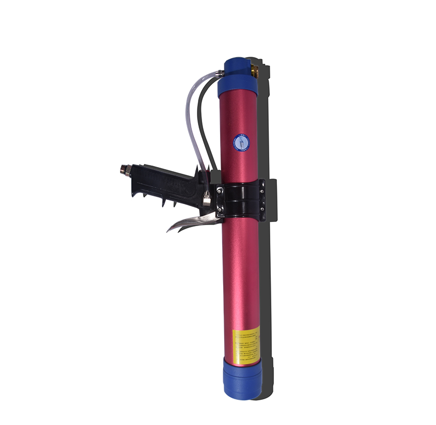 Back To Search Resultstools Caulking Gun High Quality 600ml Pneumatic Sausage Cullet Gun Adjustable Speed Pneumatic Glass Glue Gun Rubber Gun Works For 350mm Soft Glue