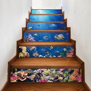 Image 4 - Stickers muraux descaliers en mosaïque